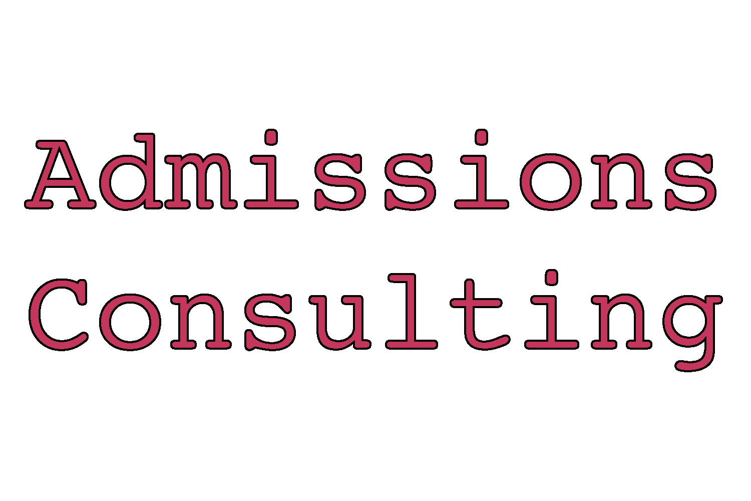 admissions consulting